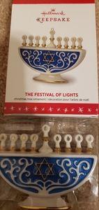 Hallmark The Festival of Lights keepsake ornament